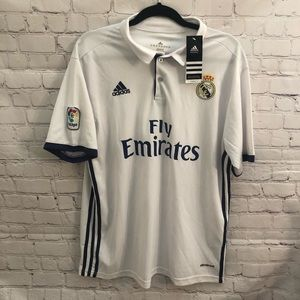 Real Madrid Adidas Home Jersey